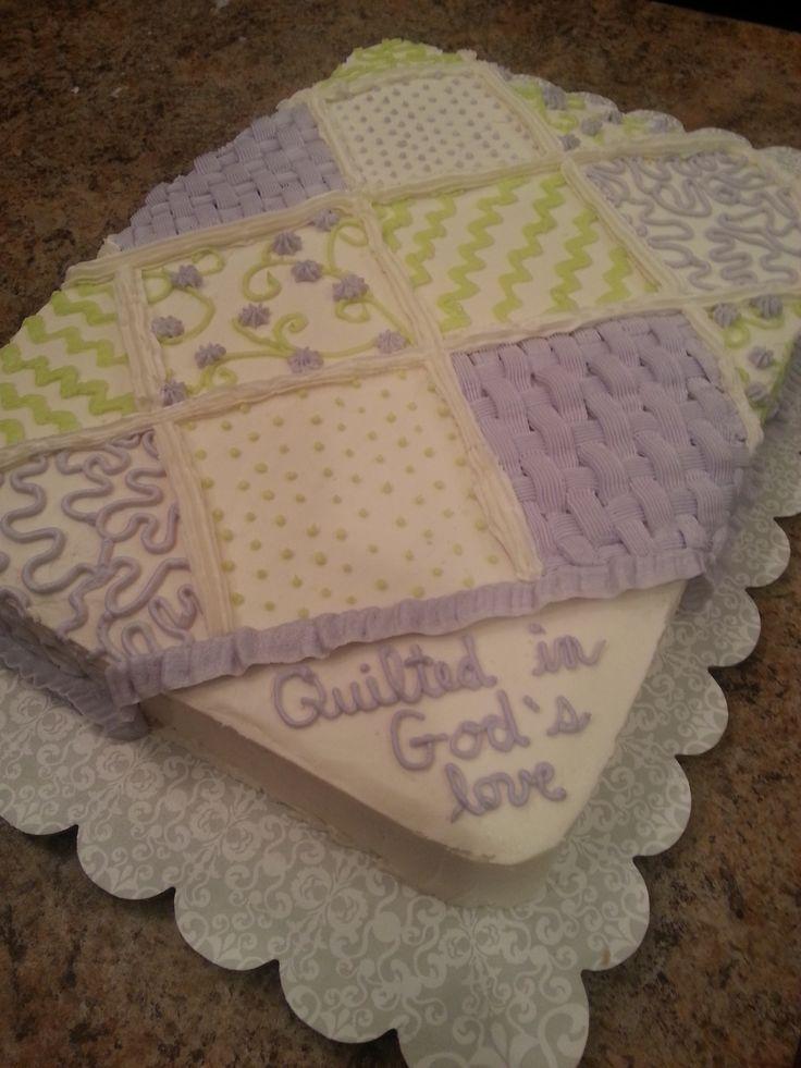 Quilt Pattern Wedding Cake : Best 25+ Quilted Cake ideas on Pinterest Fondant cake decorations, Elegant wedding cake design ...
