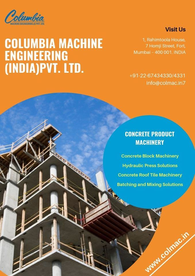 Concrete Product Machinery Concrete Block Machinery Hydraulic Press Solutions Concrete Roof Tile Machinery Batchin Concrete Roof Tiles Concrete Blocks Concrete