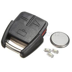 a 3 botones carcasa llave remoto coche key case para vauxhall opel vectra omega