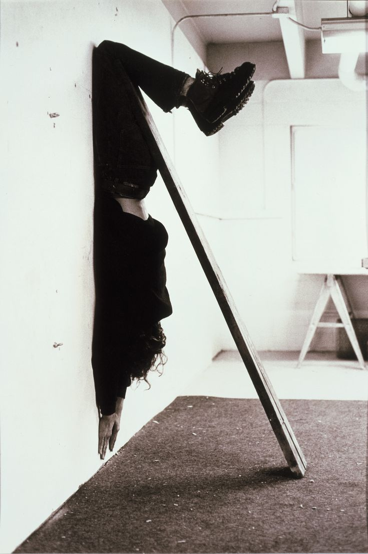 Charles Ray Plank Piece I-II, 1973 via afmuseet.no #Photography #Charles_Ray