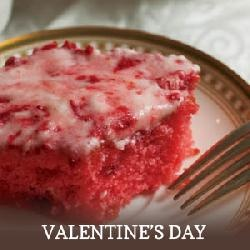 strawberry, jello cake with fresh strawberries: Desserts, Fun Recipes, Strawberries Cakes, Pink Cakes, Strawberry Sheet Cakes, Valentines Day, Strawberries Sheet Cakes, Dinners Ideas, Sheet Cakes Recipes