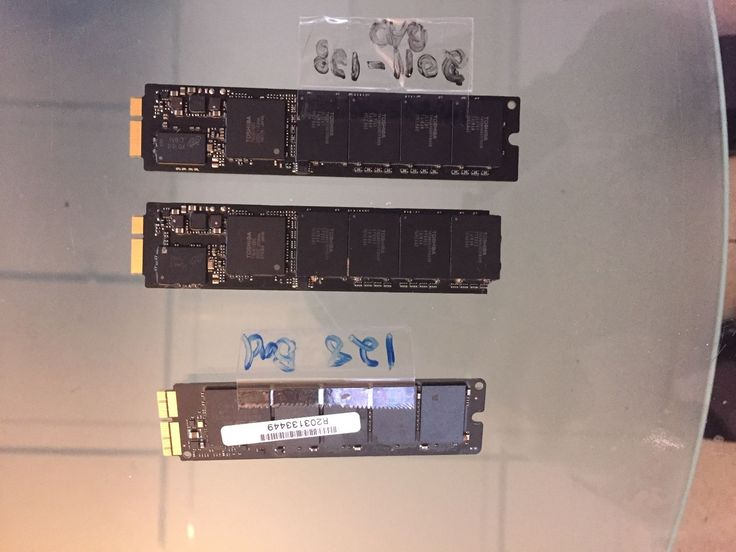 "128GB SSD 13"" MacBook Pro 2011 and 2013 DO NOT WORK"