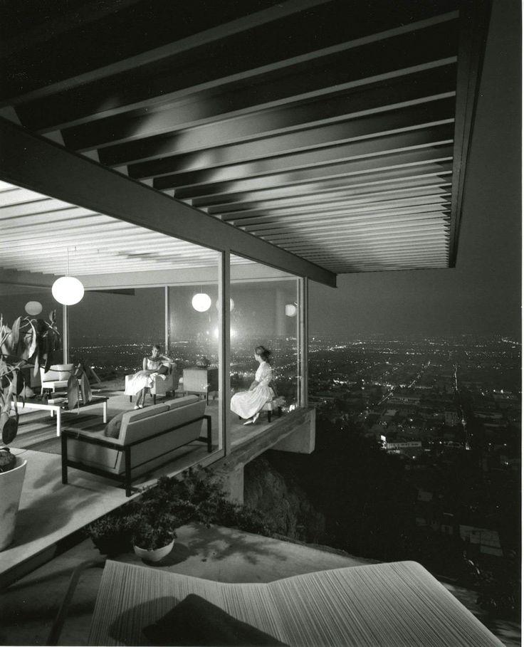 Julius Shulman, Stahl House - Case Study House #22    Sourced at:   http://www.juliusshulmanfilm.com/blog/