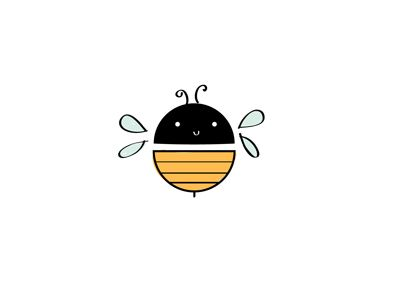 Bee Illustration by Deemah Design