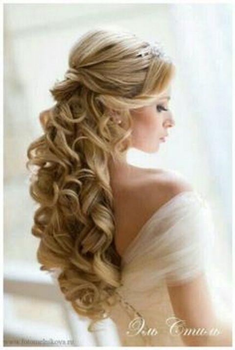 Fajne fryzury ślubne