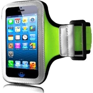 Insten Premium Neon Sports Fitness Armband Phone Phone Case Cover for Apple iPhone 5 / 5S / SE #1521811