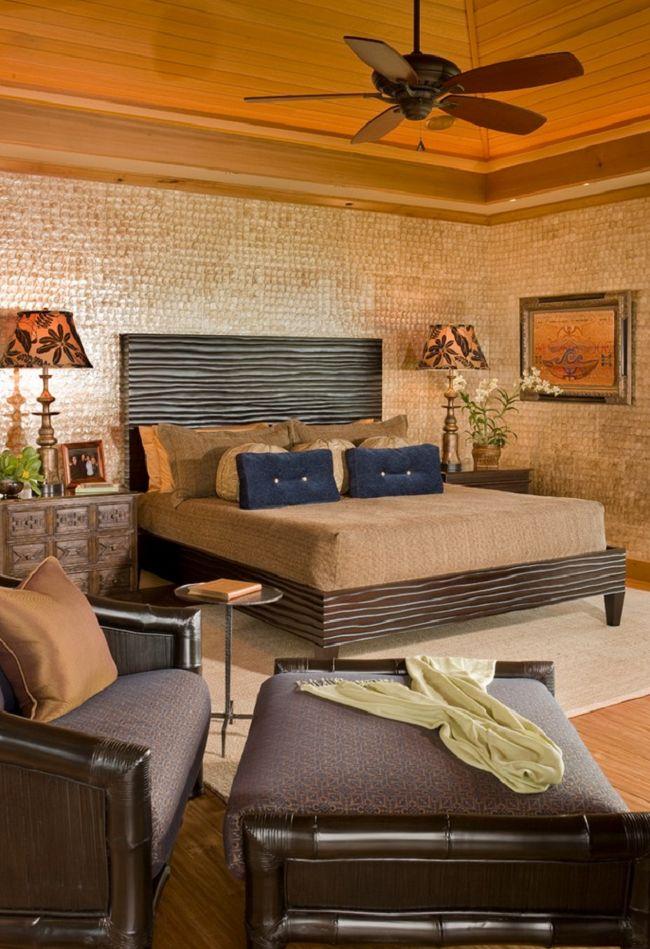 Tropical Bedroom Style in Hawaii