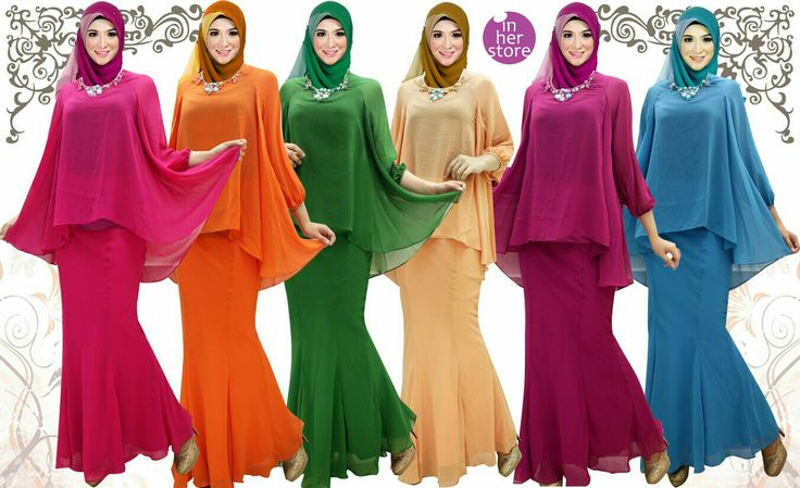 Baju Kurung by In Her Store Indonesia – Zenaya Series Material : Chiffon Cerutti Free Size Colours : Pink, Orange, Green, Cream, Magenta, Blue Retail Price : Rp 400rb/pc Reseler Price : Rp 375rb/pc (min.3pcs, mix size & colours allowed) PIN  : 56EC4B97 Line : go2dika