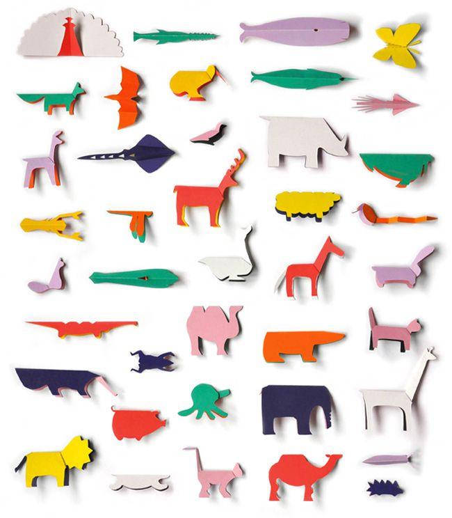 pocket paper zoo