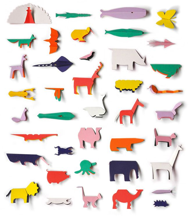 pocket paper zoo