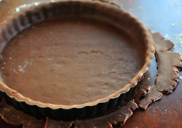 Быстрое шоколадное тесто для пирога
