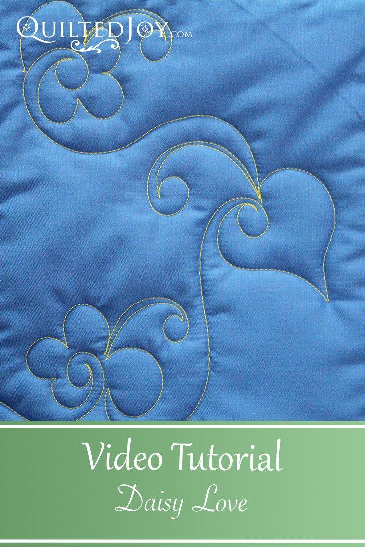 How to free-motion quilt swirl designs | weallsew.