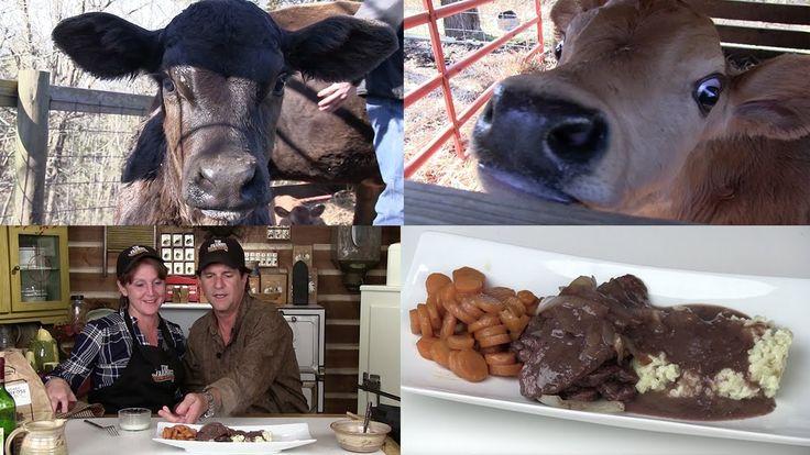 Grafting an Orphan Calf onto a Cow, Nicki's Easy Gravy, and Liver & Onio...