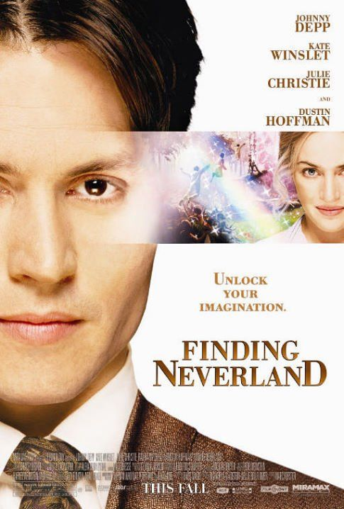 Finding Neverland (2004) <3 <3 <3 If you love Peter Pan you better have seen this or plan on it in the near future!!