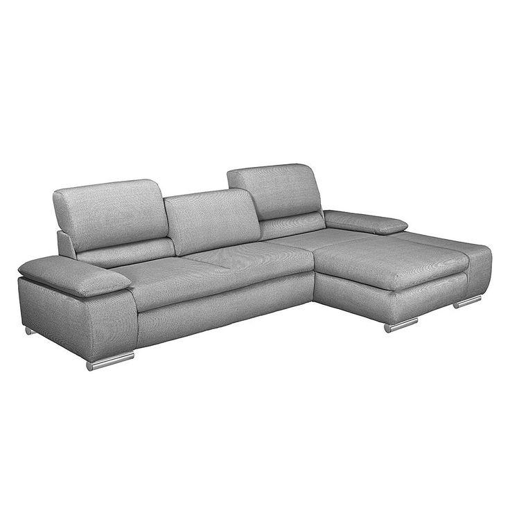 Eckcouch braun strukturstoff  Die besten 25+ Sofa hellgrau Ideen auf Pinterest | Couch 2 sitzer ...