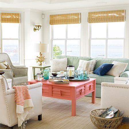 When the seasons change or you are looking to refresh your home with new colours, the combination of coral and teal, with subtle introduction of soft grey and metallic gold might be just what you need.