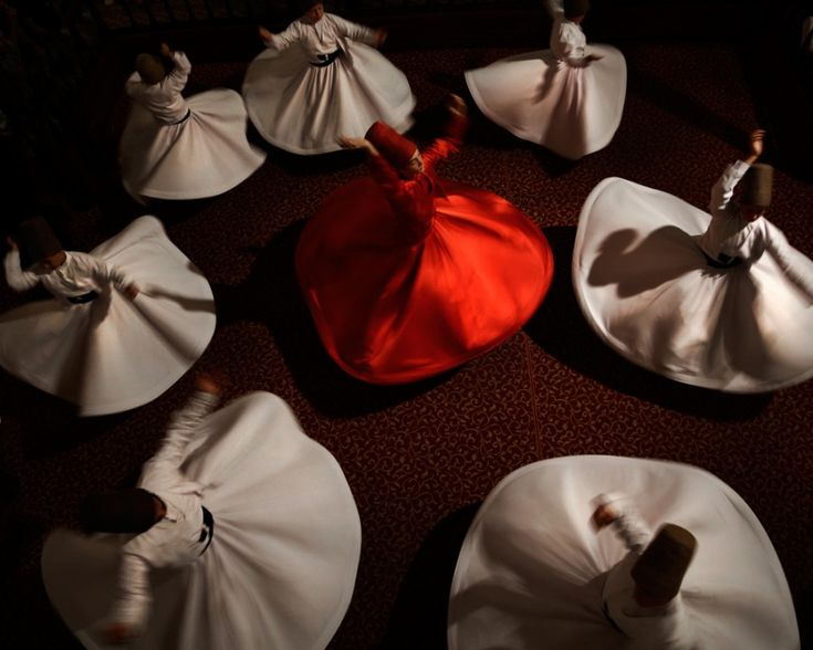Whirling Dervishes, via Matador Network