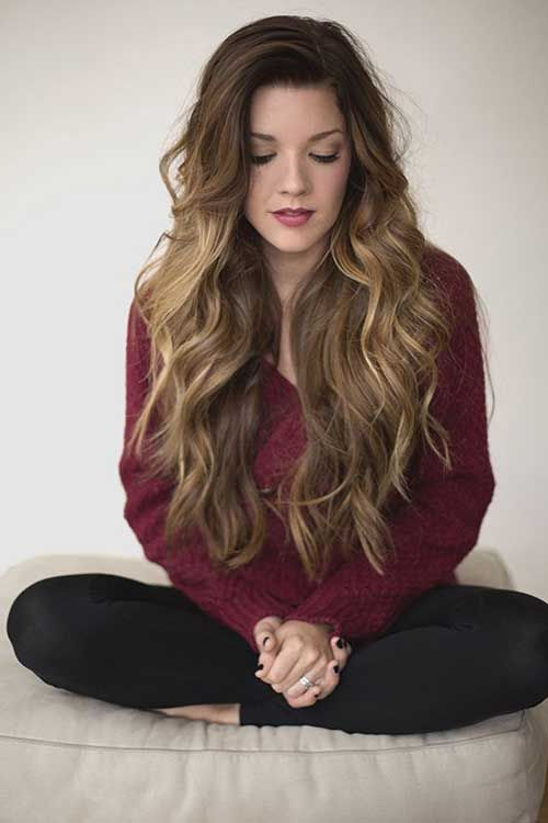 Enjoyable 1000 Ideas About Long Wavy Hairstyles On Pinterest Casual Hairstyle Inspiration Daily Dogsangcom
