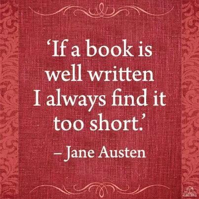 Well said Jane.