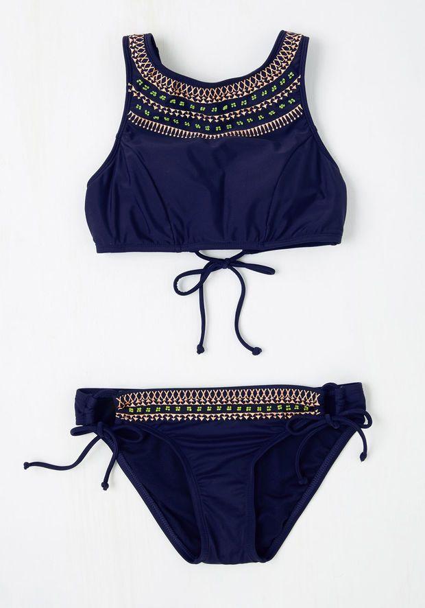 Ocean Devotion Swimsuit Bottom | Mod Retro Vintage Bathing Suits | ModCloth.com