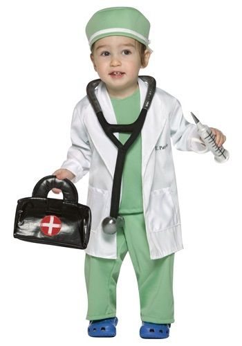 You can have the cutest child Halloween costume around by wearing this toddler doctor costume. This kid's doctor costume is sure to not disappoint.
