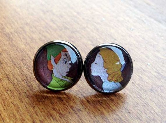 Peter & Wendy  Neverland Kiss  Disney by HybridMomentsDesigns, $10.00