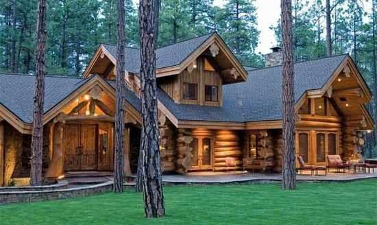 Beautiful Log house