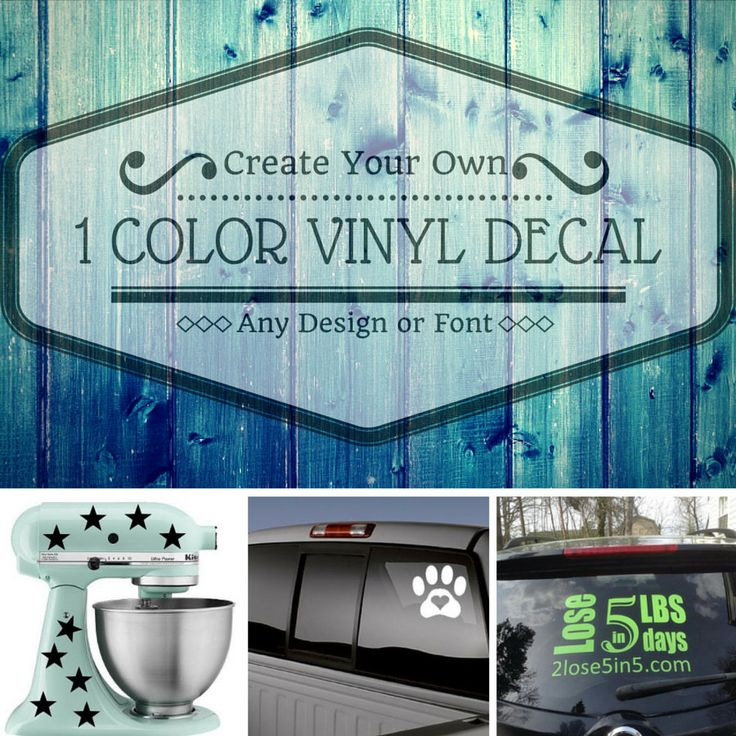 The  Best Images About Found On Etsy On Pinterest - How to make your own vinyl decals for cars