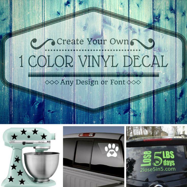 Beste Ideer Om Design Your Own Stickers På Pinterest Basketball - Make your own decal for car