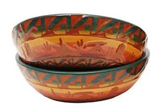 southwestern dinnerware | Navajo Crafted Dinnerware Set - Ceramics - For the Home Southwest ...