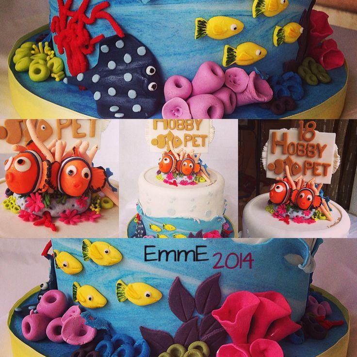 Nemo! Cake for Hobby Pet shop