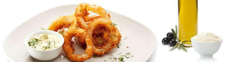 Deep fried spicy batter with smoked paprika and chipotle mayo