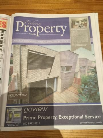 Prefer to flick through the pages during your property search. Find us in the Ealing Gazette. Free every Friday in Ealing, West London.