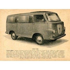 1960 Lancia Jolly (spare parts catalog)