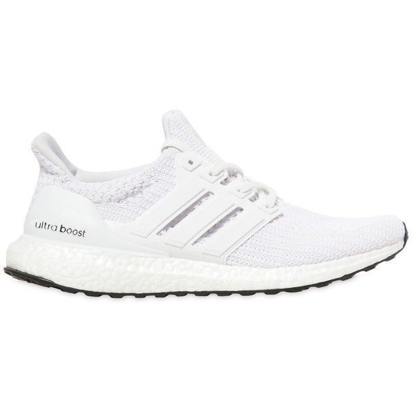 Adidas Performance Men Ultraboost 4.0 Primeknit Sneakers (800.150 COP) ❤ liked on Polyvore featuring men's fashion, men's shoes, men's sneakers, white, mens white shoes, mens rubber sole shoes, mens sneakers, adidas mens shoes and adidas mens sneakers #sneakersadidas