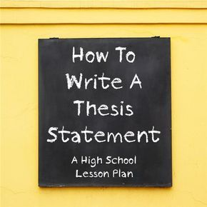 teaching thesis statements in elementary school All writers of essays need to know how to write a thesis statement unfortunately, this proves difficult for inexperienced writers so teaching thesis statements.