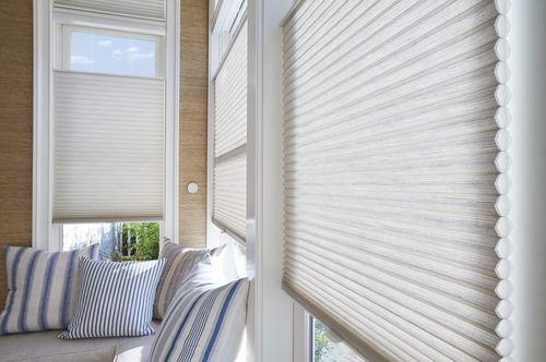 Hunter Douglas Duette shades not only look great, but may also qualify for the 2016 Federal Energy Tax Credit for up to $500! Why wait?