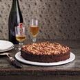 Rich Chocolate Cake w/ Salty Dulce de Leche & Hazelnut Brittle....mmmm....