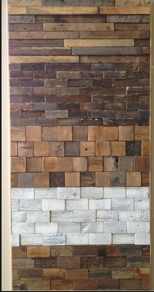 The Relished Roost: Loving Reclaimed Barn Wood Tiles!