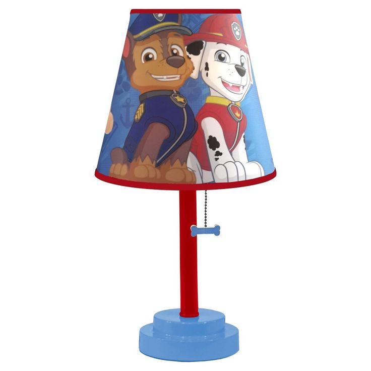 Paw Patrol Table Lamp