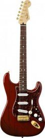 Fender Deluxe Players Series Stratocaster RW - Crimson Red Transparent