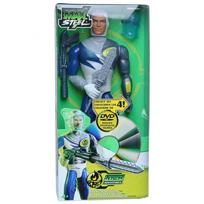 Max Steel toys 2000 | Boneco Max Steel com DVD - Mergulho Radical - Mattel