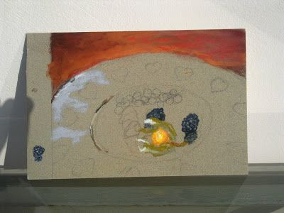 L' Atelier de Petit Bateau: Some little fruits on a disk. WIP (first attempt i...