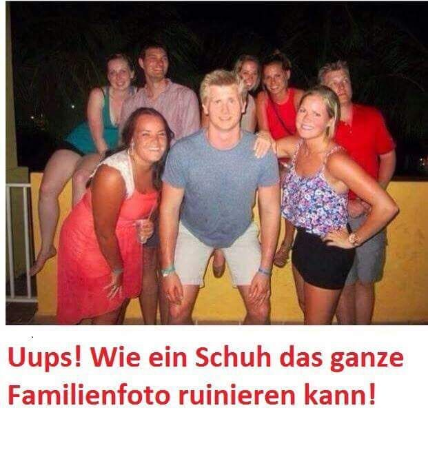 Lustige Familien Fotos