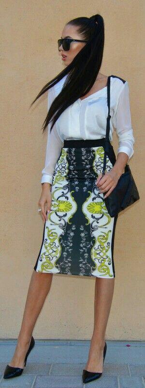 Shirt & Skirt by River Island / Laura Badura