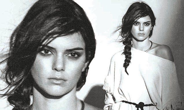 Kendall Jenner is unveiled as face of Mango
