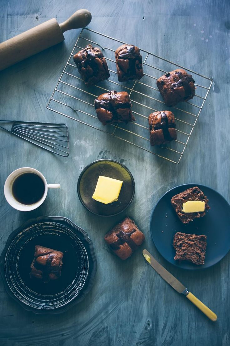 An Announcement...A Change and some Chocolate Hot Cross Buns (Souvlaki For The Soul)