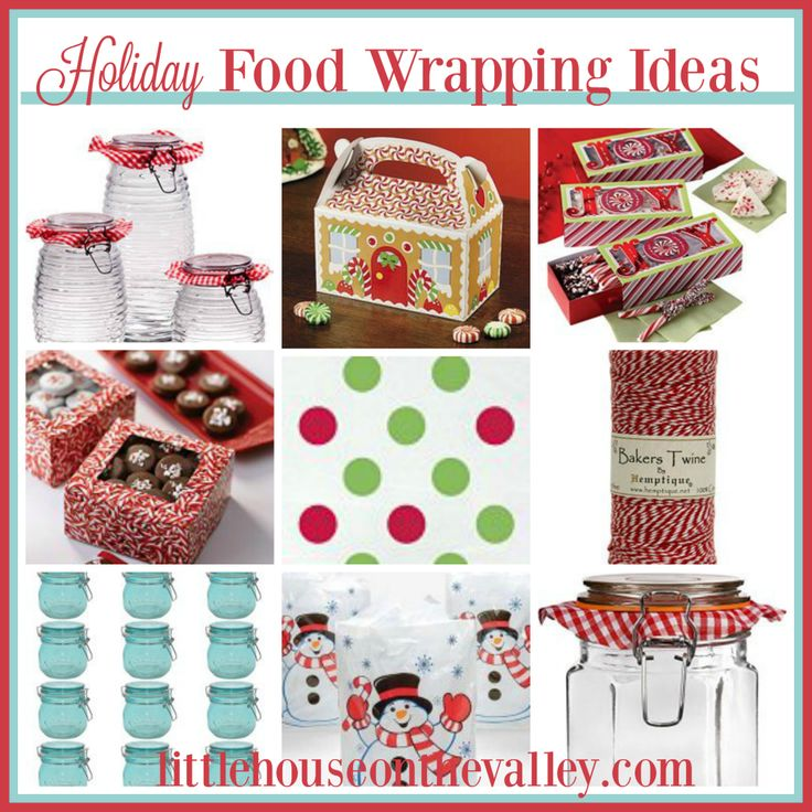 23 Holiday Food Packaging Supplies