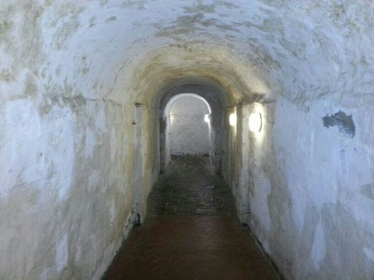 Passage to ammunition storage area, 17th century. Old castle, Cape Town