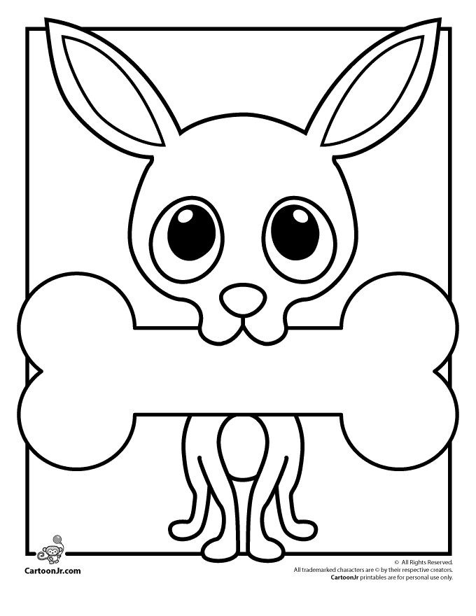 """Paul Frank Printable Coloring Pages Paul Frank Chihuahua """"Chachi"""" Coloring Page – Cartoon Jr."""